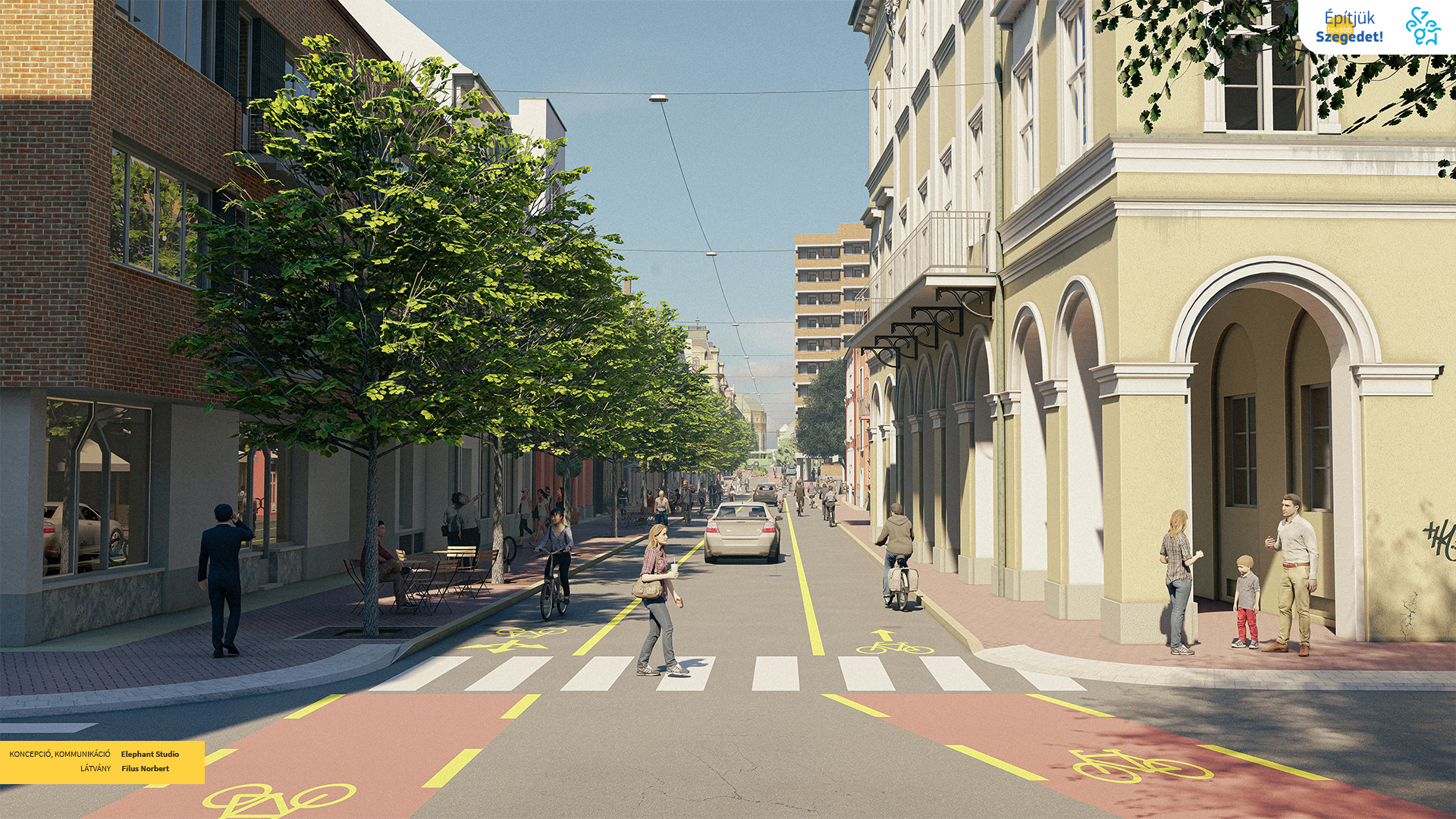 Megújul az Oskola utca